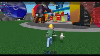 Roblox Weights Unleashed secret code! I will tode you in this video!