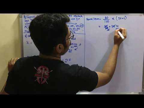 Data Mining & Business Intelligence | Tutorial #9 | Measuring Data Dispersion (Solved Problem)