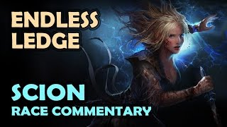 Path of Exile: ENDLESS LEDGE Race Commentary - SCION Fire Trap / Cleave (Bloodgrip Season)