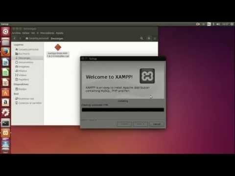 instalar apache php linux: