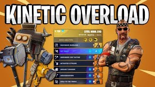 KINETIC OVERLOAD Steel Wool Syd Build | New Hero System