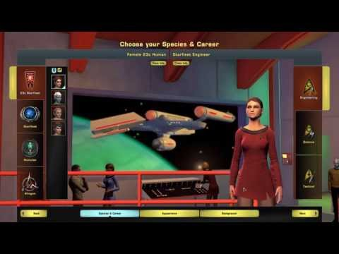 Star Trek Online - New Player Character Creation Guide (AoY 2016)