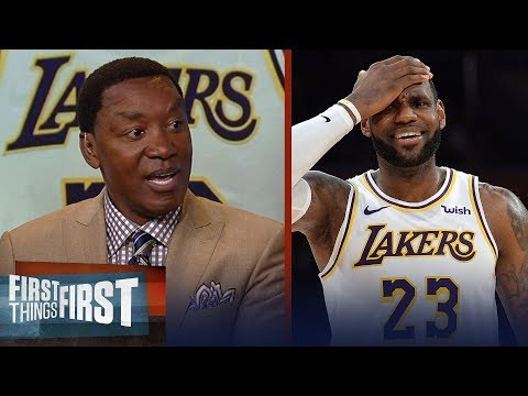 Isiah Thomas explains how the NBA has failed LeBron James | NBA | FIRST THINGS FIRST
