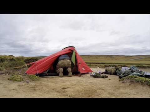 Blown Across the Falkland Islands (time-lapse montage)