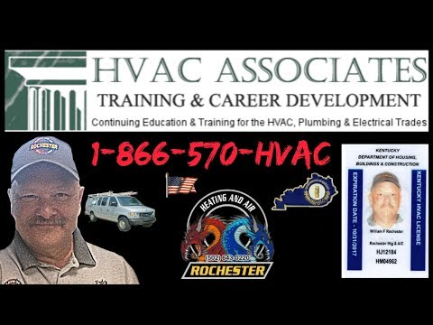 Kentucky HVAC Continued Education Class