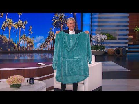 Get Cozy with This New Oversized Ellen Blanket Hoodie!