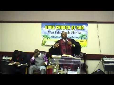 BCOG-WPB-Bishop Gerald Banks,Sr.,Pastor