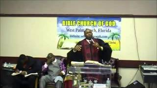 BCOG-WPB-Bishop Gerald Banks,Sr.,Pastor