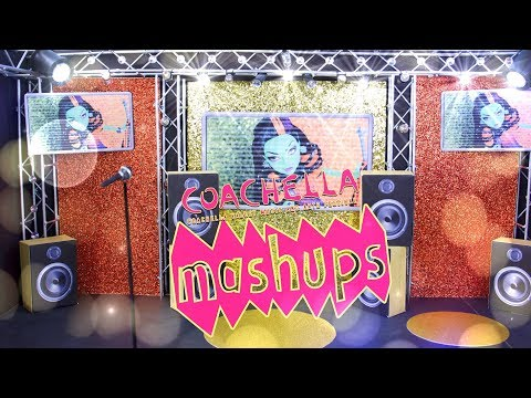 Mash Ups: COACHELLA Inspired Music Crafts | Concert Stage | Microphone & Much More