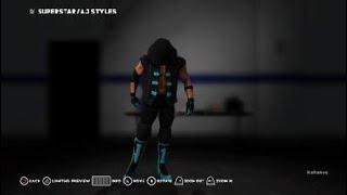 AJ Styles Royal Rumble 2018 Kıyafetleri Nasıl 2K18 WWE: