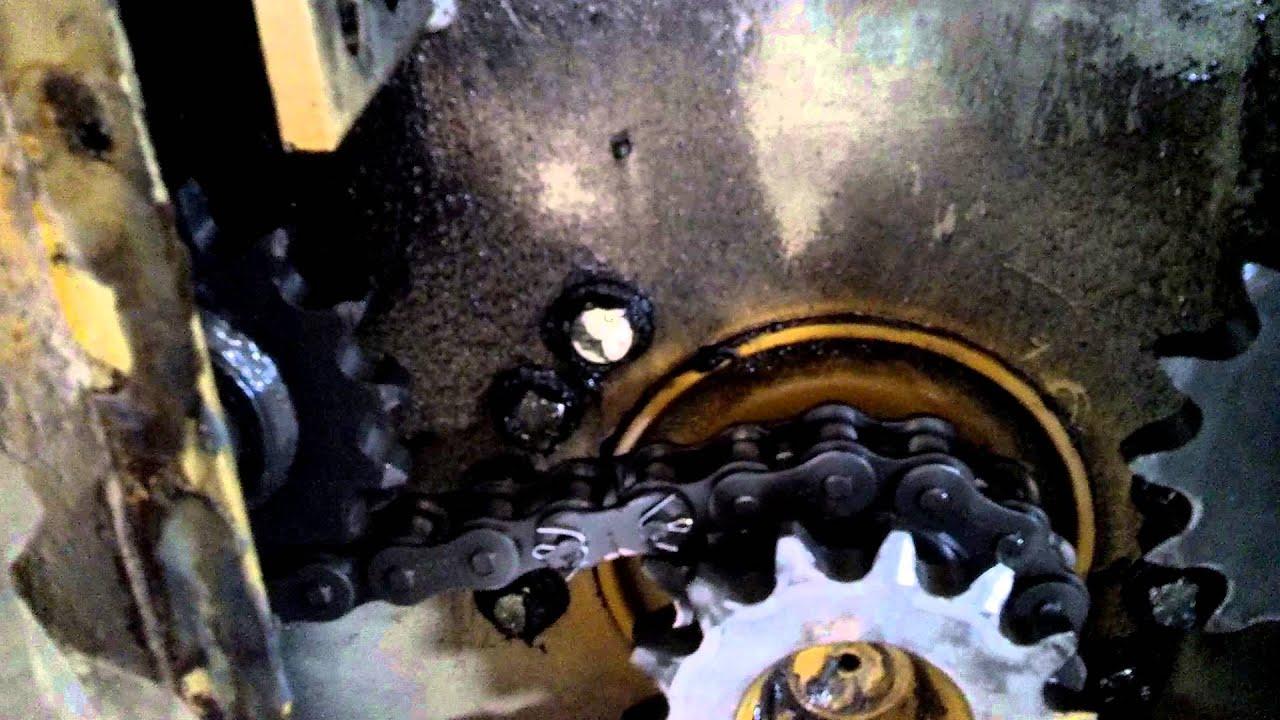 Gehl skid steer drive system  YouTube