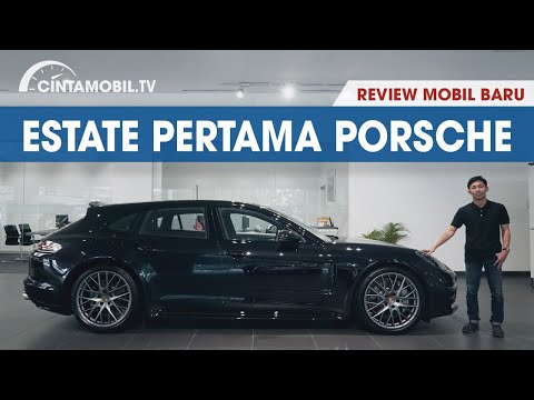 PORSCHE PANAMERA 4S SPORT TURISMO 2018 | MOBIL SPORT PRAKTIS | CINTAMOBIL TV