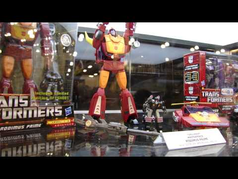 BotCon 2011 Transformers Retail Exclusives #2 - Masterpiece Rodimus Prime, Unicron, and more