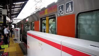 【ホームドア稼働前日】大阪環状線 323系普通内回り 新今宮到着