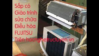 Vẽ tặng bạn sơ đồ khối nguồn và quạt điều hòa Fijitsu Inverter - Sắp có giáo trình Video sửa Fujitsu