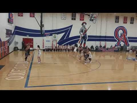 DeLasalle vs Oxford Acad - 3rd Quarter following timeout (2/21/18)