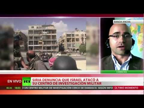 Ataque aéreo israelí, ¿Segunda fase del plan internacional contra Siria?
