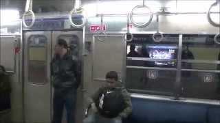 ブエノスアイレス地下鉄で活躍中の名古屋市交通局(東山線・名城線)車両 アルゼンチン, 2014年5月
