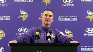Mike Zimmer recaps 2018 season opener