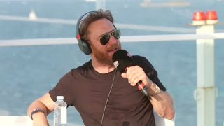 David Guetta en interview en direct d'Ibiza