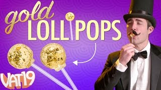 Lollipops Made of Real Gold!