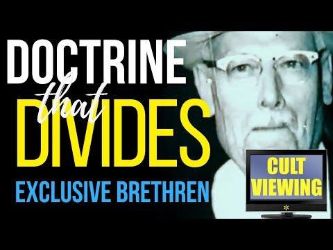 Exclusive Brethren - RARE 1976 Exposé Documentary: 'Doctrine That Divides'