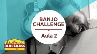 Banjo Challenge | Aula de Banjo 2 | Tipos de Rolls
