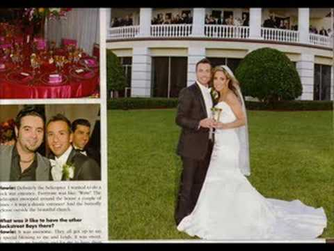 Howie dorough wedding youtube for Howie at home