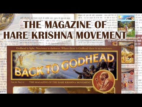Back to Godhead Magazine | Subscribe Today - Call : 8767845845