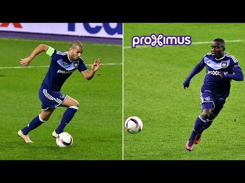 Sofiane Hanni & Frank Acheampong after RSCA - Mainz