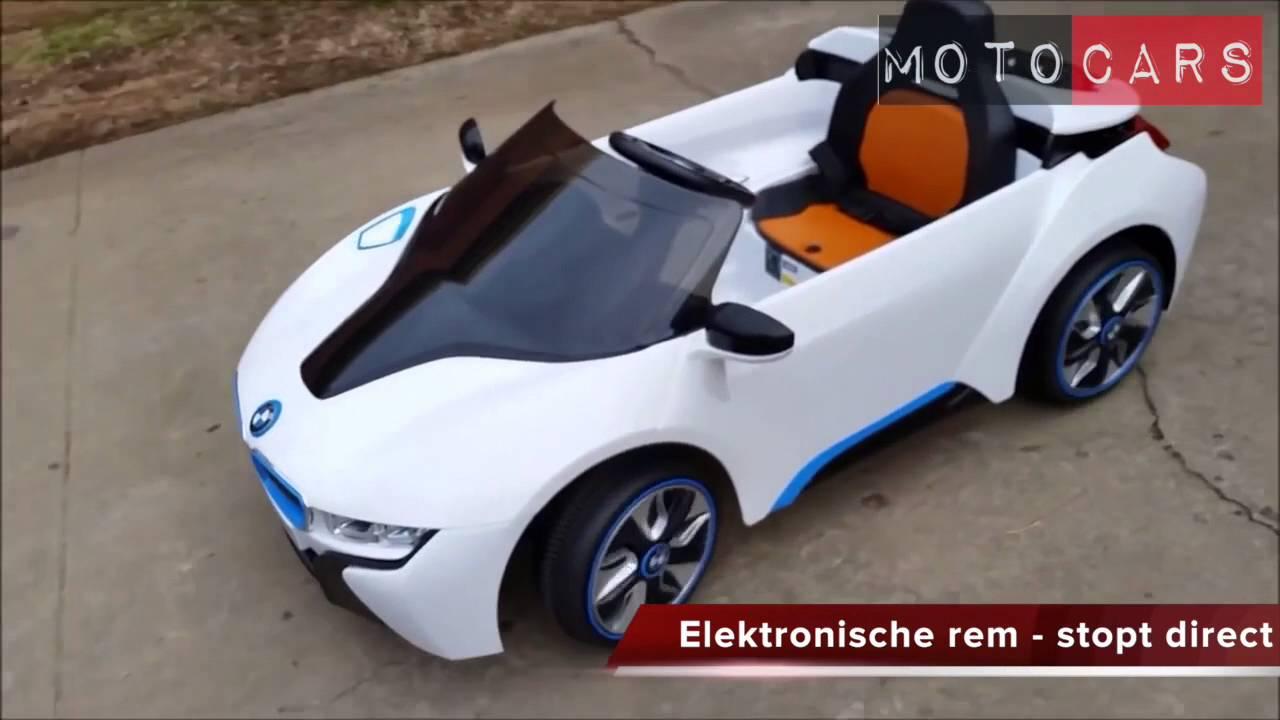 bmw i8 kinderauto met licentie motocars youtube. Black Bedroom Furniture Sets. Home Design Ideas