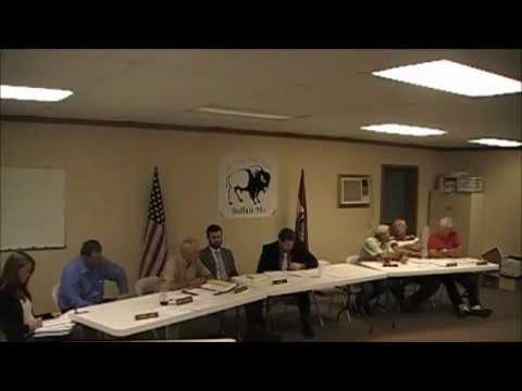 Buffalo Missouri City Council Meeting September 17th 2012 Dallas County