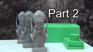 Resin Casting Tutorial: Multi-piece Mold Part 2