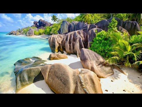 Most beautiful beach in the world: Anse Source D'Argent (Seychelles)