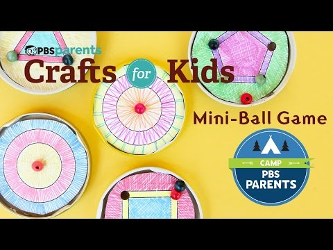 Mini Ball Game |  Crafts for Kids |  PBS Parents