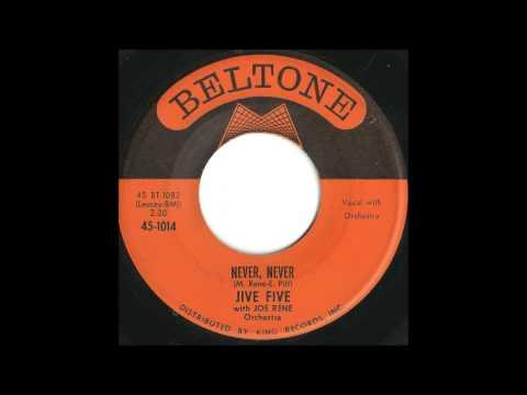 Jive Five - Never, Never - Classic Brooklyn Doo Wop Ballad