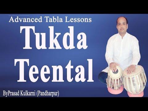 Tabla Lesson # 61 (Teental  Tukra )