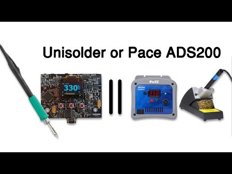 Next Soldering Station: Unisolder Or Pace ADS200 ?