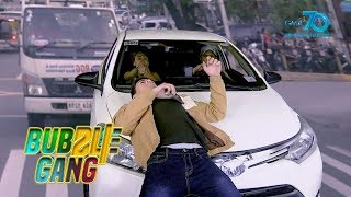 Bubble Gang: Waiz app on the road