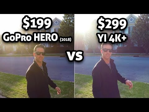 $199 GoPro HERO vs $299 YI 4K+!!