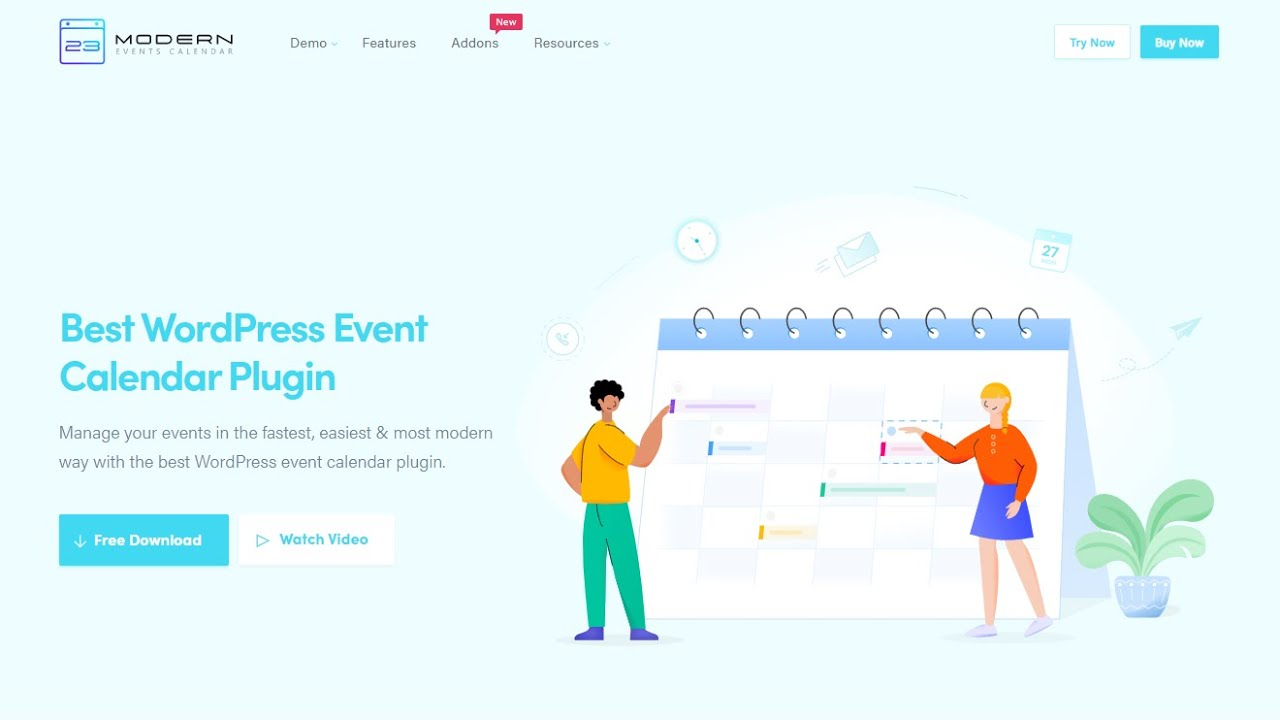 Modern Events Calendar Lite – Plugin WordPress | WordPress org