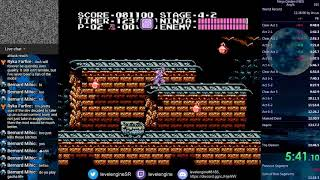 Ninja Gaiden speedrun in 13:45