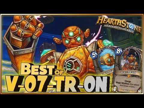 Hearthstone - Best of V-07-TR-0N - Funny and lucky Rng Moments