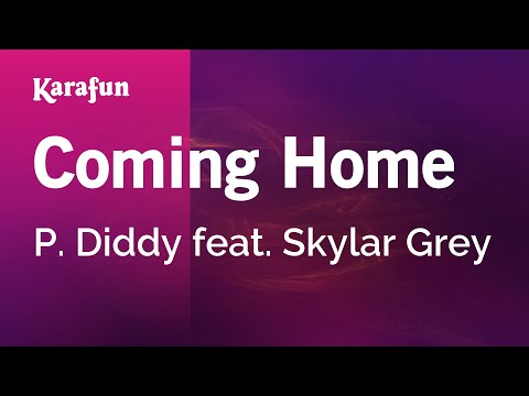 Karaoke Coming Home - P. Diddy *