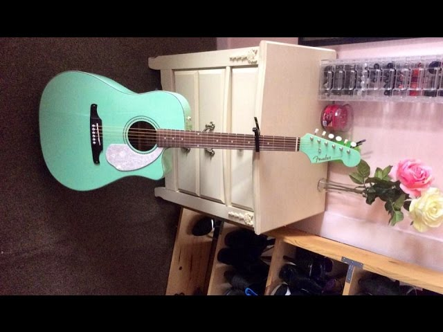 Fender Sonoran Sce In Surf Green Unboxing Ohhsnapitzjen Youtube