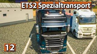 ETS2 SPEZIALTRANSPORT 🚚 Park Möglichkeit ► #12 Euro Truck Simulator 2 DLCs deutsch