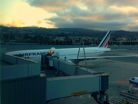 FLIGHT TRIP REPORT | Air France | Boeing 777-200 | San Francisco - Paris | Economy Class | ✈