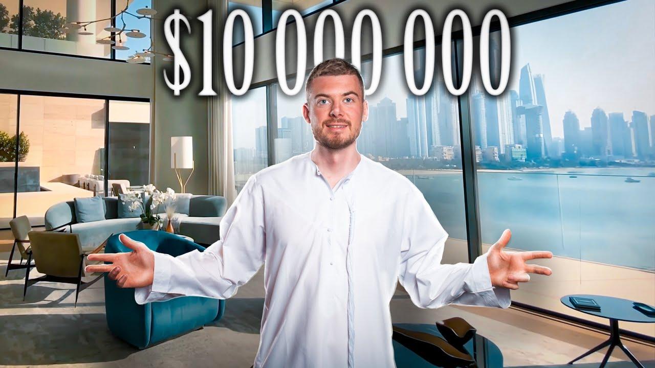 Обзор квартиры за $10 000 000 в Дубае. One Palm