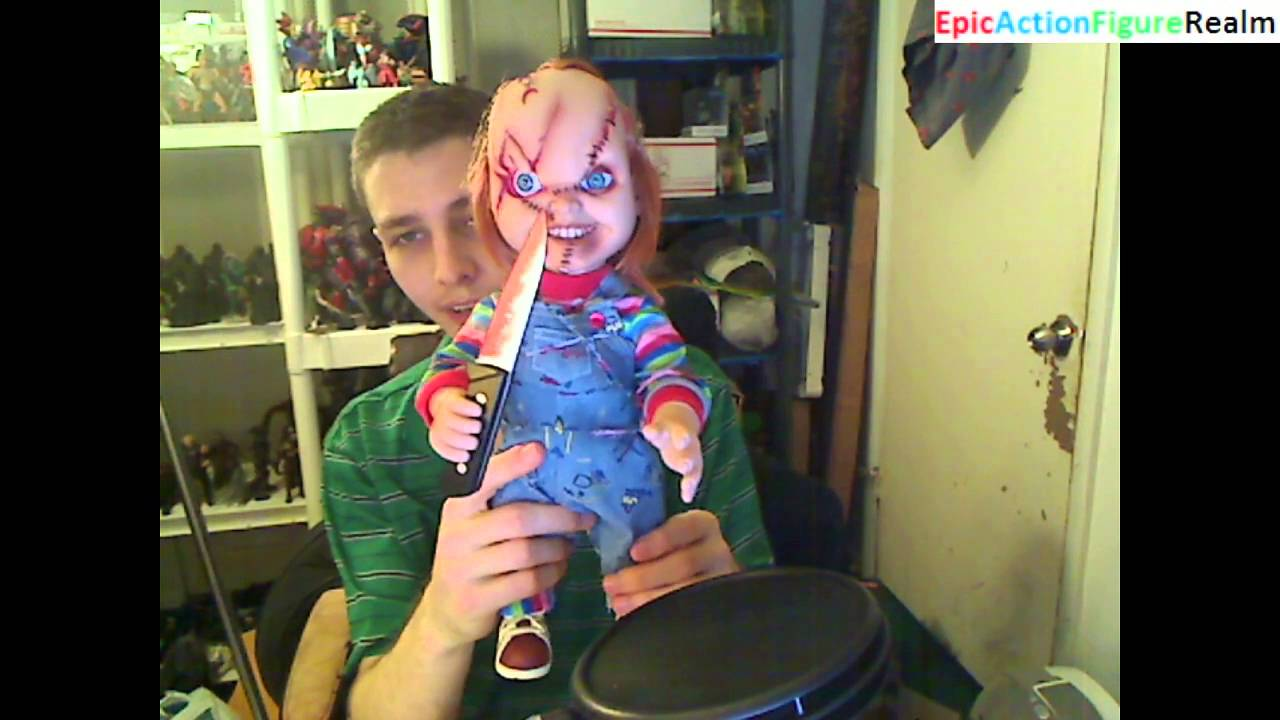Unboxing The 15 Talking Chucky Doll That Resembles Chucky