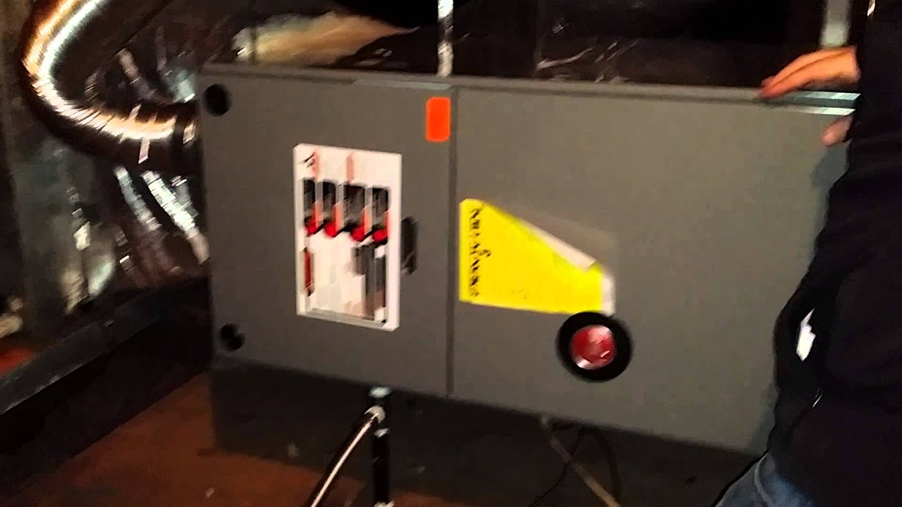 Noise from Gas Furnace in Attic Fixed! - YouTube